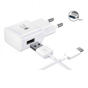 Alimentador e Cabo USB Tipo-C 5V 2.0A 15W EP-TA20EWE Branco
