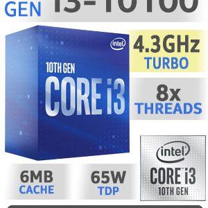 Processador INTEL I3 10100 LGA1200  3.6Ghz 6MB 4C8T