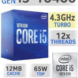 Processador INTEL I5 10400 LGA1200  2.9Ghz 12MB