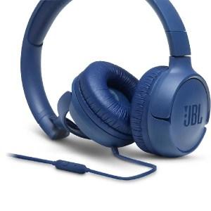 Auscultadores JBL T500 Azul