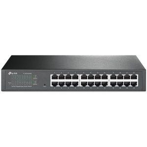 Hub-Switch TPLINK 24Portas  Smart 10-100-1000 TL-SG1024DE