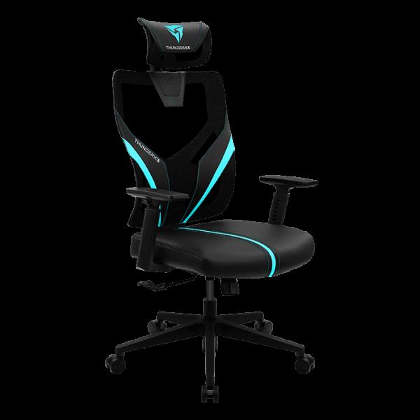 Cadeira Gaming THUNDERX3 YAMA1 Black Cyan